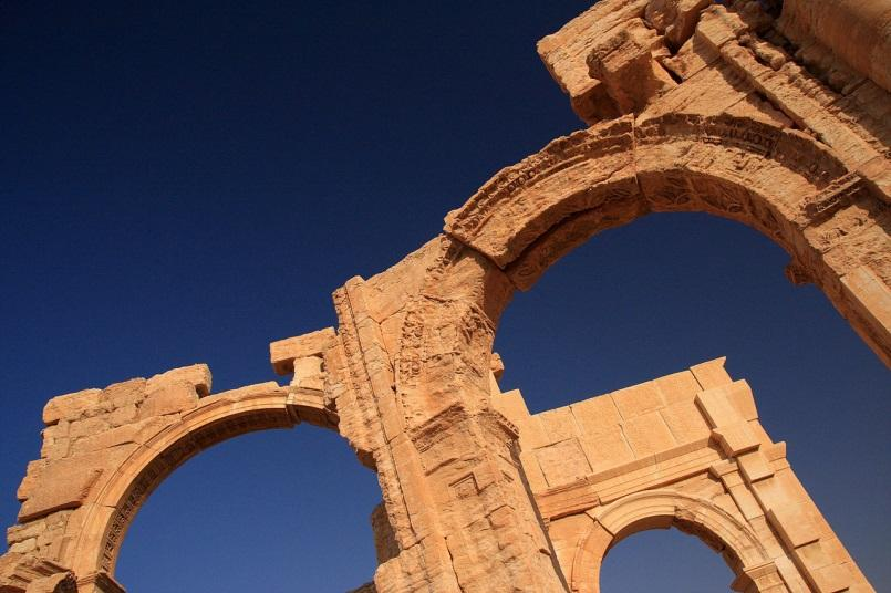 Palmyra Arch In The City Of Peace And Justice Centre For Global