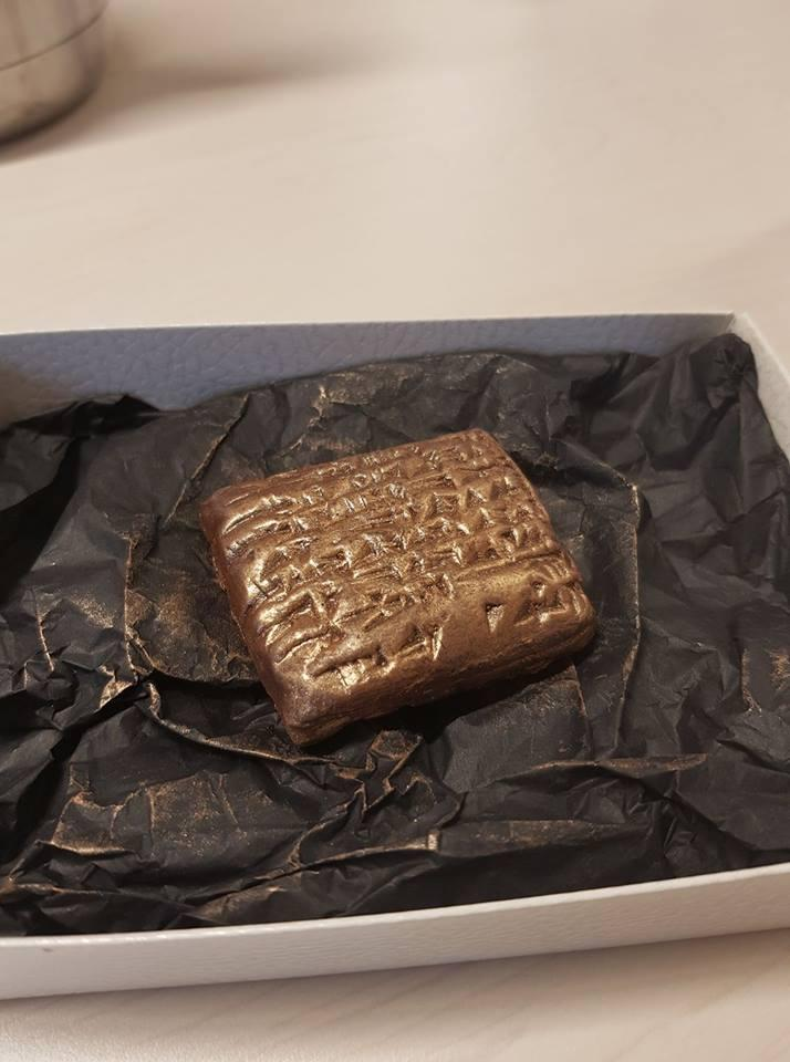 chocolate clay tablet