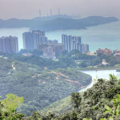 Hong Kong city and landscape